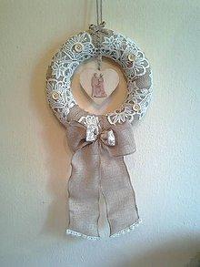 Kytice pre nevestu - vintage svadobný veniec svadobný pár - 8128548_