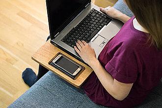 Pomôcky - Drevená podložka pod notebook - 8131142_
