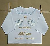 - vyšívaná košielka na krst - 8131496_