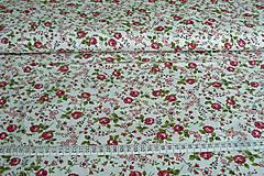 Textil - Látka ružičková - 8130324_