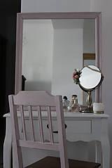 Nábytok - Ružová vidiecka stolička - 8130147_