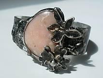 Sady šperkov - Jabloňový kvet - andský opál, tiffany - 8132492_