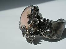 Sady šperkov - Jabloňový kvet - andský opál, tiffany - 8132493_