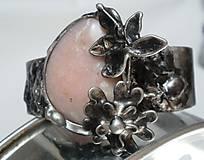 Sady šperkov - Jabloňový kvet - andský opál, tiffany - 8132497_
