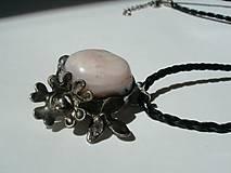 Sady šperkov - Jabloňový kvet - andský opál, tiffany - 8132498_