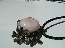 Sady šperkov - Jabloňový kvet - andský opál, tiffany - 8132514_