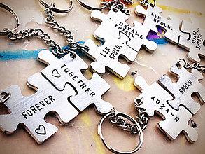 Kľúčenky - PUZZLE s Tvojím textom :) - 8133589_