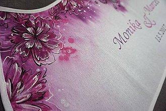 Iné doplnky - svadobný dvojitý podbradník - 8134366_