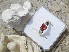 Prstene - pink turmalin in silver II - 8134437_