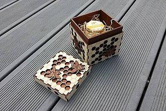 Krabičky - Krabička inšpirovaná včelami - 8134343_
