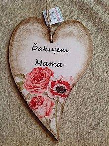 Tabuľky - Ďakujem mama - 8132850_