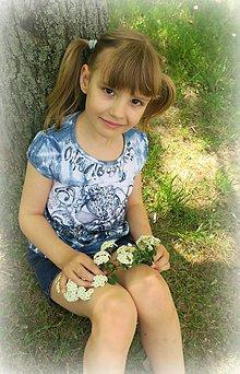 Detské oblečenie - dievčatko na ľudovú notu - 8132789_