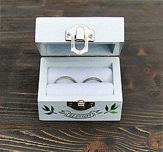 Iné doplnky - Penová podložka na prstene - 8134129_