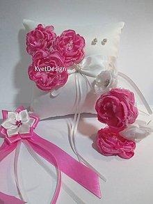 Úžitkový textil - Svadobný vankúšik - 8134670_