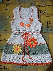 Detské oblečenie - Kvietko-tunika-top dievčenský - 8132951_