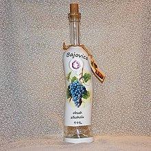 Iné - Darčeková fľaša Bajovica - 8132845_