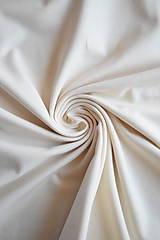 Textil - Bio elastický bavlněný úplet GOTS – natur - 8133845_