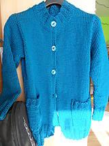 Svetre/Pulóvre - klasický svetrík na objednávku - 8132142_