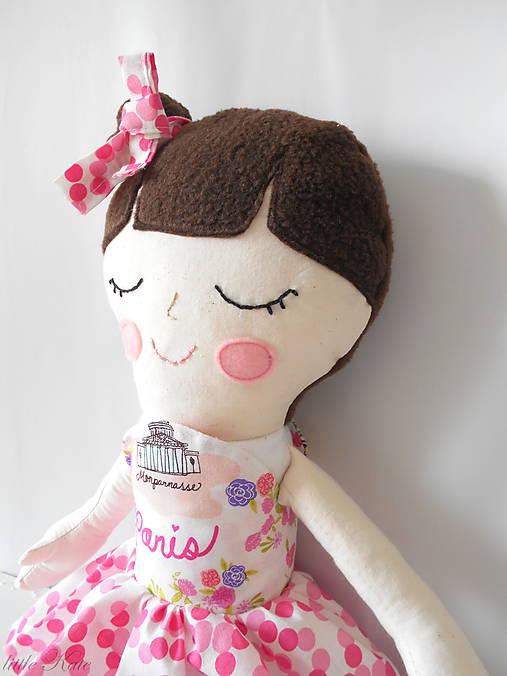 Hračky - veľká bábika Clémence - 8133079_