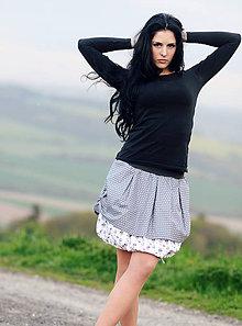 Sukne - la femme / šedá - 8132006_