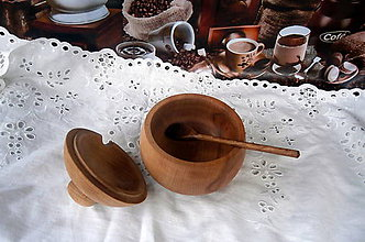 Nádoby - drevená miska... - 8136745_