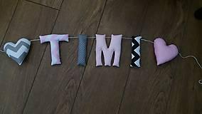 Detské doplnky - Písmenká TIMI - 8136254_