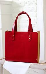 Veľké tašky - Taška SHOPPER BAG WIDE RED - 8136324_