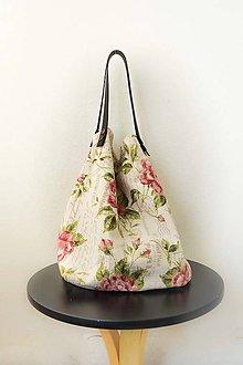 Veľké tašky - Casual... obojstranná... #47... & kožené ramienka - 8136615_