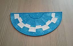 Úžitkový textil - Obrúsky v tvare polkruhu - 8135494_