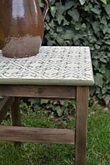 Nábytok - Taký vidiecky stolík/stolička - 8135365_