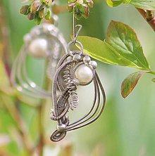 Náušnice - Secesní perly P - 8140885_