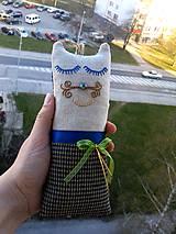 """Textil - """"malá cica parádnica Gustava Klimta"""" - 8138430_"""