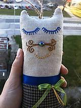 """Textil - """"malá cica parádnica Gustava Klimta"""" - 8138431_"""