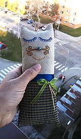 """Textil - """"malá cica parádnica Gustava Klimta"""" - 8138432_"""