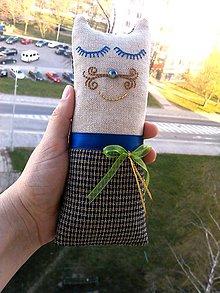 """Textil - """"malá cica parádnica Gustava Klimta"""" - 8138429_"""