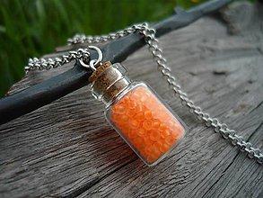 Náhrdelníky - Náhrdelník Orange NEON - 8140493_
