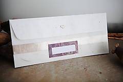 Papiernictvo - Obálka na peniaze - fialová - 8140326_
