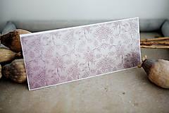 Papiernictvo - Obálka na peniaze - fialová - 8140328_