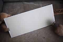 Papiernictvo - Obálka na peniaze - zlatá - 8140346_