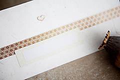Papiernictvo - Obálka na peniaze - zlatá - 8140347_