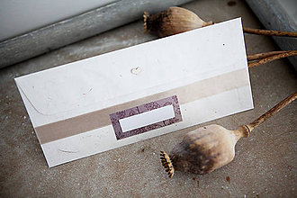Papiernictvo - Obálka na peniaze - fialová - 8140358_
