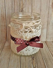 Svietidlá a sviečky - vintage svietnik - 8140109_