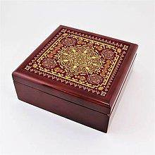 Krabičky - Krabička aj na šperky drevená ornament - 8142097_