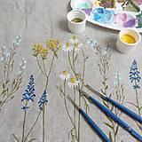 Úžitkový textil - Vankúš - zakvitnutá lúka - 8138397_