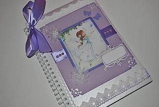Papiernictvo - VÍLA fialková/Skladom - 8138342_