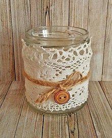 Svietidlá a sviečky - vintage svietnik I. - 8140214_