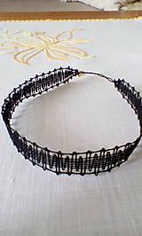 Obojkový paličkovaný náhrdelník choker