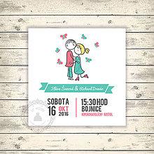 Papiernictvo - Svadobný komplet - 8143323_