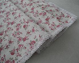 Úžitkový textil - Obrus na stôl... romantický s ružami - 8143513_