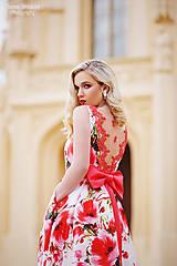 Náušnice - Vanilla/Rose...soutache - 8145922_